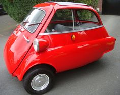 Isetta as owned by my Aunty Margaret. Small Suv, Small Cars, Bmw Isetta, Reverse Trike, Old Cars, Concept Cars, Motor Car, Classic Cars, Automobile