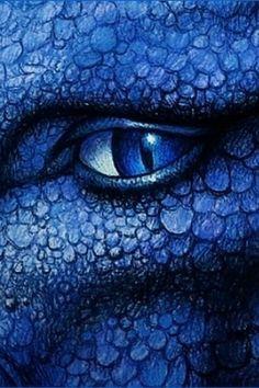 Blue Dragon eye