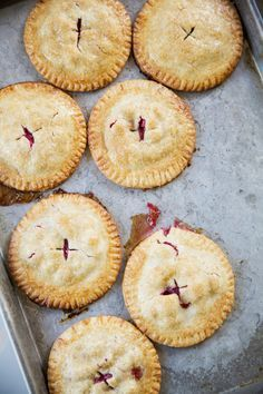 Festive Holiday Hand Pies