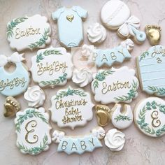 Baby boy cookies 2019 Baby boy cookies The post Baby boy cookies 2019 appeared first on Baby Shower Diy. Baby Boy Cookies, Cookies For Kids, Baby Shower Cookies, Cake Baby, Baby Shower Biscuits, Baby Shower Cupcakes Neutral, Baby Boy Baptism, Baby Boy Shower, Baby Boys