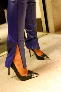 Sapatos com ponta de metal, must have!