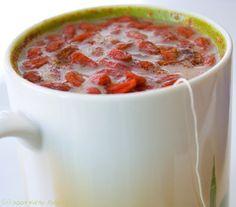 Goji Berry Chai Tea: My Morning Brew. (And Routine)
