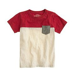 Boys' contrast pocket tee $29.50   [see more colors] FREE SHIPPING                                          $29.50                                   ...