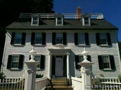 Hocus Pocus ~ Ropes Mansion in Salem, MA