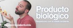 Miguel es biológio y respetuoso con el medio ambiente