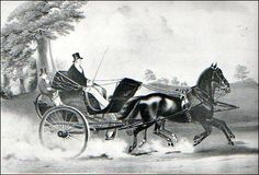 Carriage makers spared no expense in making the curricle as decorative as their clients desired.