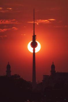 ღღ Berlin - Partial Eclipse by Jean Claude Castor Berlin Photography, Germany Photography, Fine Art Photography, Berlin City, Berlin Berlin, Places To Travel, Places To See, Beautiful World, Beautiful Places