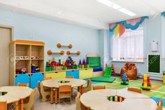 Find Kindergarten Game Room stock images in HD and millions of other royalty-free stock photos, illustrations and vectors in the Shutterstock collection. Private Nursery, Pre Primary School, Gray Streaks, Private Preschool, Office Dress Code, Brown Image, Hangout Room, Kindergarten Games, Nursery School