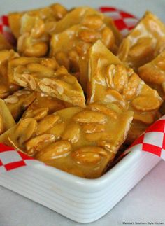 Make buttery peanut brittle in no time flat using a microwave #microwavepeanutbrittle #peanutbrittle #peanuts #candy #holidayrecipes #southernfood #desserts #dessertfoodrecipes #christmasrecipes #southernrecipes #christmascandy #holidaydesserts Brittle Recipes, Nut Recipes, Amish Recipes, Retro Recipes, Candy Recipes, Holiday Recipes, Snack Recipes, Dessert Recipes, Cooking Recipes