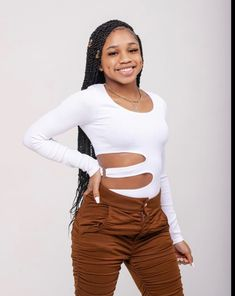 Swag Outfits For Girls, Little Girl Outfits, Dope Outfits, Famous Teenagers, Birthday Outfit For Teens, Matching Outfits Best Friend, Really Cute Outfits, Teen Fashion, Kawaii