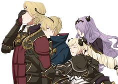 Fire Emblem Fates - Nohr << is it bad that I think I love this family already without even playing the game?