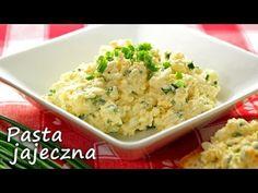Ta pasta jajeczna skradnie Twoje serce. Tylko spójrz na przepis. Od razu się zakochasz Risotto, Potato Salad, Mashed Potatoes, Ethnic Recipes, Food, Kitchens, Whipped Potatoes, Smash Potatoes, Essen