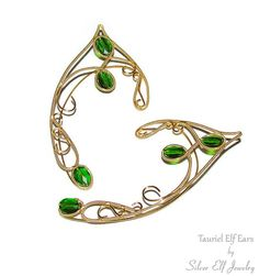 Tauriel Elf Ears SAME DAY Shipping LOTR Elf by SilverElfJewelry