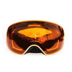 eaf68384466 Unisex Multicolor snowboard goggles Ski Glasses Double Lens Anti-fog  Spherical Professional skiing men women snow Sports Eyewear