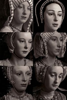 Wax figures of Henry Vlll wives. Wives Of Henry Viii, King Henry Viii, Anne Of Cleves, Anne Boleyn, Tudor History, British History, Asian History, Ancient History, Katharina Von Aragon