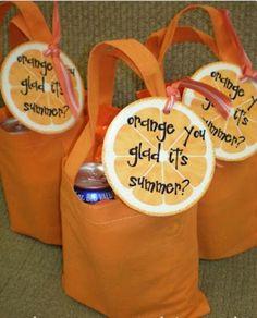 Orange you glad it's summer bag!!
