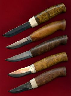 The Blade Blog: Hunting Knives by Börje Ahlström - Sweden