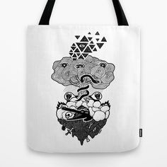 Hypnoisland Tote Bag on Society6