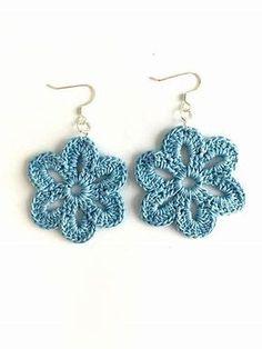 Resultado de imagen de Free Crochet Instructions for Earrings