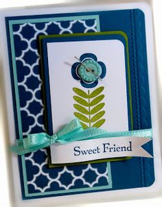 Stampin' Up! SAB  by Chat at Me, My Stamps and I: