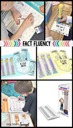Help you students with fact fluency, guided math fact fluency and pracitice, timed fact fluency tests & number fact practice. Click through for these great teaching resources! #2ndgrade #teachingresources #guidedmath