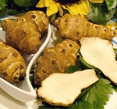 jerusalem artichokes, many recipes here