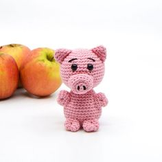 Crocheted animals and amigurumi Archive - KreaLoui Crochet Animals, Crochet Toys, Free Crochet, Baby Knitting Patterns, Crochet Patterns, Granny Stripes, Iphone 6 Covers, Handmade Stuffed Animals, Pet Pigs