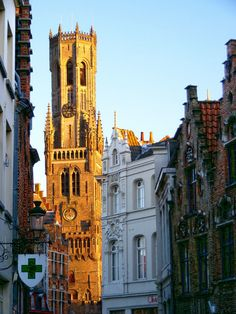 Bruges, Belgium. Bell towers, cafes, canals, cobbled streets, art and the best pomme frites in Europe. Bruges has it all.