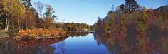 Autumn view of Loch Katrine.Clan lands of MacGregors, MacNaughton,  MacLaren & Drummond