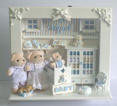 Porta Maternidade quarto decorado