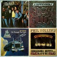 Rockets ‎– Turn Up The Radio ‎– 195₴ Steppenwolf ‎– Slow Flux ‎– 365₴ Def Leppard ‎– On Through The Night ‎– 435₴ Phil Collins ‎– Serious Hits...Live! ‎– 275₴  #newindiskultura #diskultura#greatestHitsVinylShop #kyiv #kyivshop#vinyl #винил #пластинки #ArtRock #HardRock #DefLeppard #PhilCollins #Rockets #Rock #Steppenwolf #Rockets