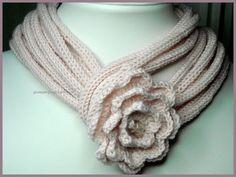 sciarpa con tricotin