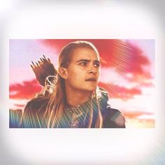 Legolas! #legolas #lotr #lordoftherings #thehobbit #desolationofsmaug #elf #orlandobloom \\