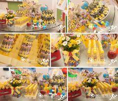 Lindos personalizados no tema carrossel | Festa infantil by Mariah festas…