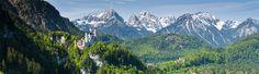 Bayerische Alpen - beeindruckende Bergkulissen