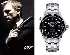 Omega Limited Edition - James Bond - 007 | www.majordor.com Omega Seamaster Chronometer, Omega Seamaster Black, Omega Seamaster James Bond, Seamaster Watch, Omega Speedmaster, Breitling Watches, Rolex Watches For Men, Luxury Watches For Men, Cool Watches