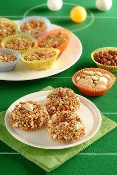 Gallette di cereali soffiati al malto