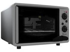 Forno Elétrico Venax Luxo 45L - Grill Elétrico Timer 120 minutos