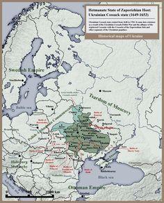 Ukrainian Cossack state: Zaporizhian Host 1649-1653