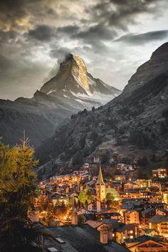 """banshy: """"Zermatt, Switzerland by Josh Perrett """""""