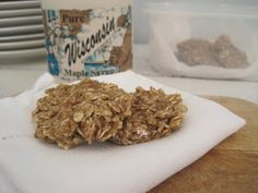 SUNDAY BAKER: Maple & Oats Cookie Chews (Flourless)