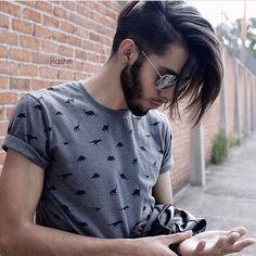 """ถูกใจ 107 คน, ความคิดเห็น 1 รายการ - ✂hair for men✂ (@hair.men) บน Instagram: """"👍"""""""