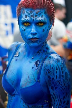 Mystique #Cosplay from X-men | Salt Lake Comic Con 2013
