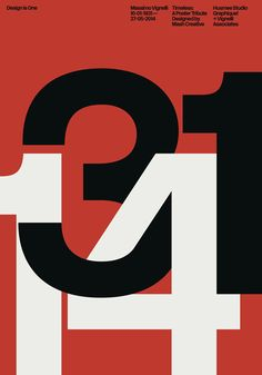 Massimo Vignelli's typographic legacy is an inspiration to all