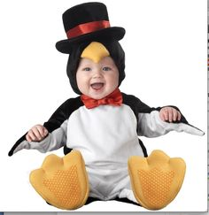 penguin with top hat