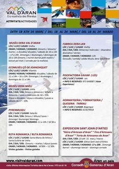 Actividades en el Valle de Aran del 18 al 24 de Marzo 2013.-  (pag.1)