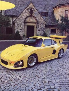 Porsche 935 K3 Banana Slugger #porsche