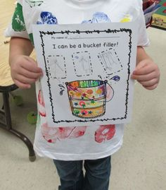 Love Those Kinders!: Our Bucket Fillers and Columbus unit