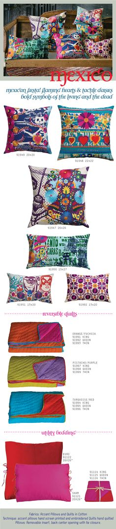 koko Company. Great bedding. Saw on 2modern website. Love the mexico collection - great graphics and colors.