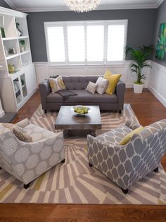#HomeandGarden contemporary living room ideas